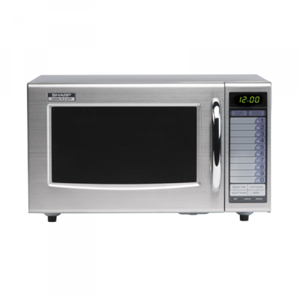Sharp R21AT Commercial Microwave Oven